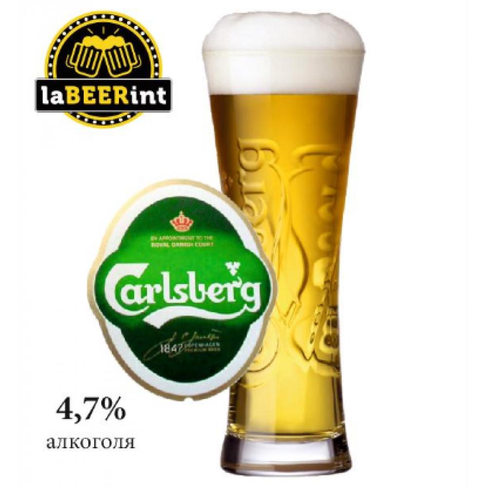 Пиво Carlsbergl (Карлсберг) светлое на разлив